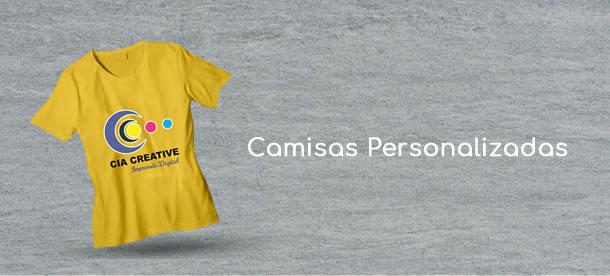 Camisa personalizadas